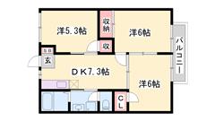 閑静な住宅街 敷地内に駐車場完備 大手ハウスメーカー施工 短期契約もご相談可能☆ 103の間取
