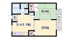 敷金・礼金0円 周辺買い物便利な立地です☆ 閑静な住宅街です! 202の間取