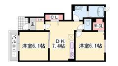 敷金0円☆ 敷地内予備駐車場有り 短期契約もご相談可能☆ A101の間取