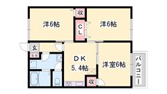 敷金・礼金0円物件 BSアンテナ エアコン付き 短期契約もご相談可能☆ 101の間取