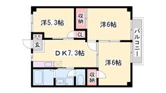 敷金・礼金0円で初期費用を抑えられます☆大手ハウスメーカー施工物件☆ 102の間取