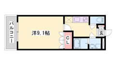 イオンすぐ傍で生活便利!大村駅も近くです☆ 単身さんにオススメ! 102の間取
