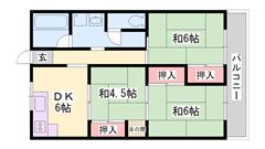 敷金礼金0円!!魅力的な家賃!!エレベーター完備☆駐車場空きあり☆ 301の間取