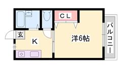 和室→洋室に大改装 室内大幅リフォームでキレイです  駐車場1台付。 105の間取