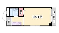 東加古川駅楽々徒歩圏内!周辺環境充実! 306の間取