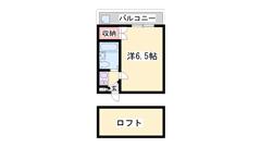 東加古川駅徒歩7分!!都市ガス仕様の低額賃料物件です♪ 201の間取