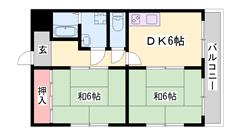 RCマンションで防音も◎お手頃なお家賃☆バストイレ3点セパレートです!! 302の間取