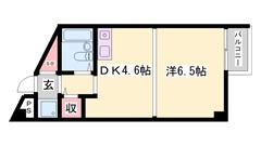 加古川駅楽々徒歩圏内!ロフト付き!人気の都市ガス物件! 103の間取