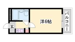 嬉しい家賃価格(*^_^*)学生さんにもおススメ(^O^)/閑静な住宅街です☆ 301の間取