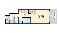 西飾磨駅まで徒歩圏内!南向きで明るい室内♪ 102の間取