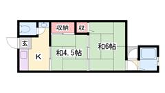 都市ガスで経済的!姫路駅まで自転車で15分♪ 5の間取