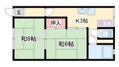 駐車場1,000円のお家賃♪ 入居前に畳替え入ります☆ 閑静な住宅街♪ 101の間取
