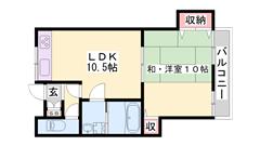 エアコン・システムキッチン・ウォシュレット・シャンプードレッサー等設備充実☆ 202の間取