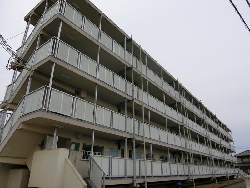 物件番号: 1119490799  姫路市飾磨区今在家 1DK マンション 外観画像