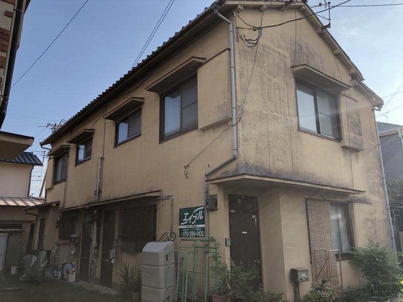 物件番号: 1119490841  姫路市伊伝居 2K ハイツ 外観画像