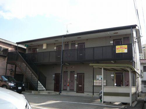 敷金礼金0円!山陽網干駅徒歩3分の駅近物件。敷地内駐車場あります。 102の外観