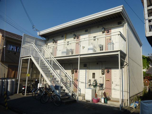 物件番号: 1119430185  姫路市土山2丁目 1K ハイツ 外観画像