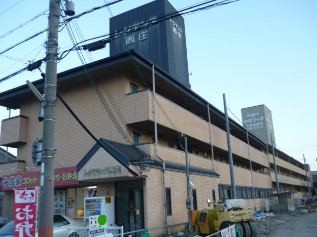 物件番号: 1119437180  姫路市西庄 1DK マンション 外観画像