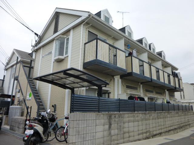 物件番号: 1119472624  姫路市新在家中の町 1K ハイツ 外観画像