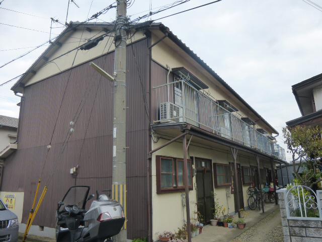 物件番号: 1119437526  姫路市亀山2丁目 2K ハイツ 外観画像