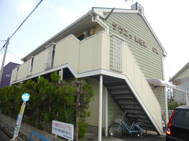 物件番号: 1119446453  姫路市新在家本町3丁目 1K ハイツ 外観画像