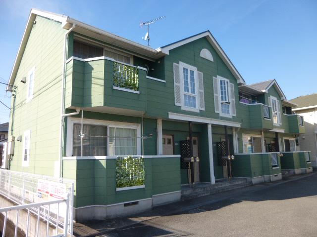 物件番号: 1119417703  姫路市飾磨区今在家7丁目 2DK ハイツ 外観画像