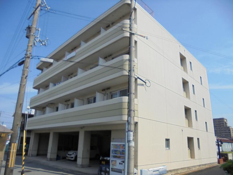 物件番号: 1119491974  姫路市野里 1K マンション 外観画像