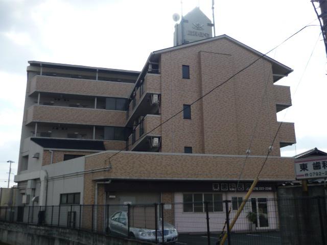 物件番号: 1119493045  姫路市保城 1K マンション 外観画像