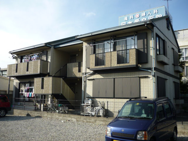 物件番号: 1119474617  姫路市飾磨区栄町 2DK ハイツ 外観画像