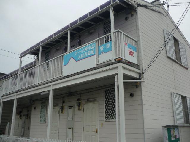 JR野里駅まで徒歩3分 近隣にサティが有ります 低家賃で一人暮らしにおすすめ 106の外観