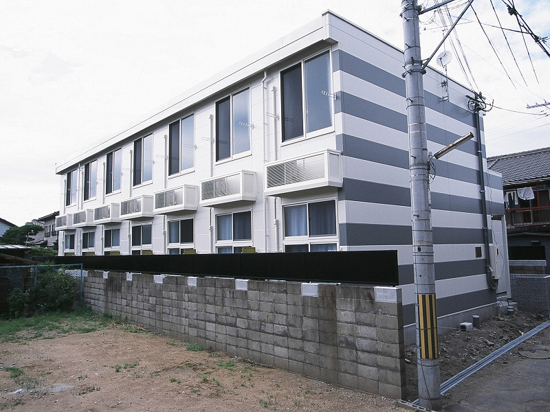 物件番号: 1119491552  姫路市飾磨区細江 1K ハイツ 外観画像