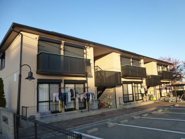 姫路バイパス中地ランプすぐ 駐車場1台込み 買い物近く。 201の外観